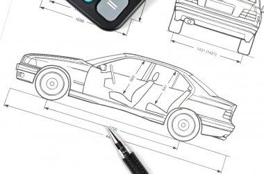 Car blueprint