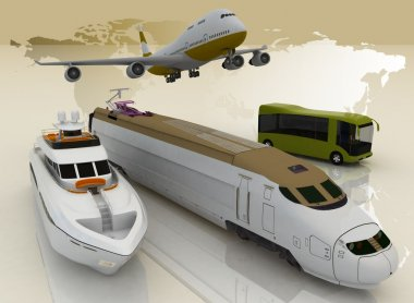 Concept of transport for trips