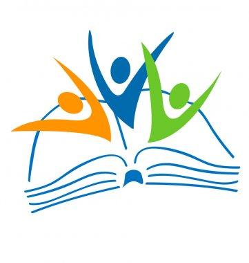 Swoosh figures logo