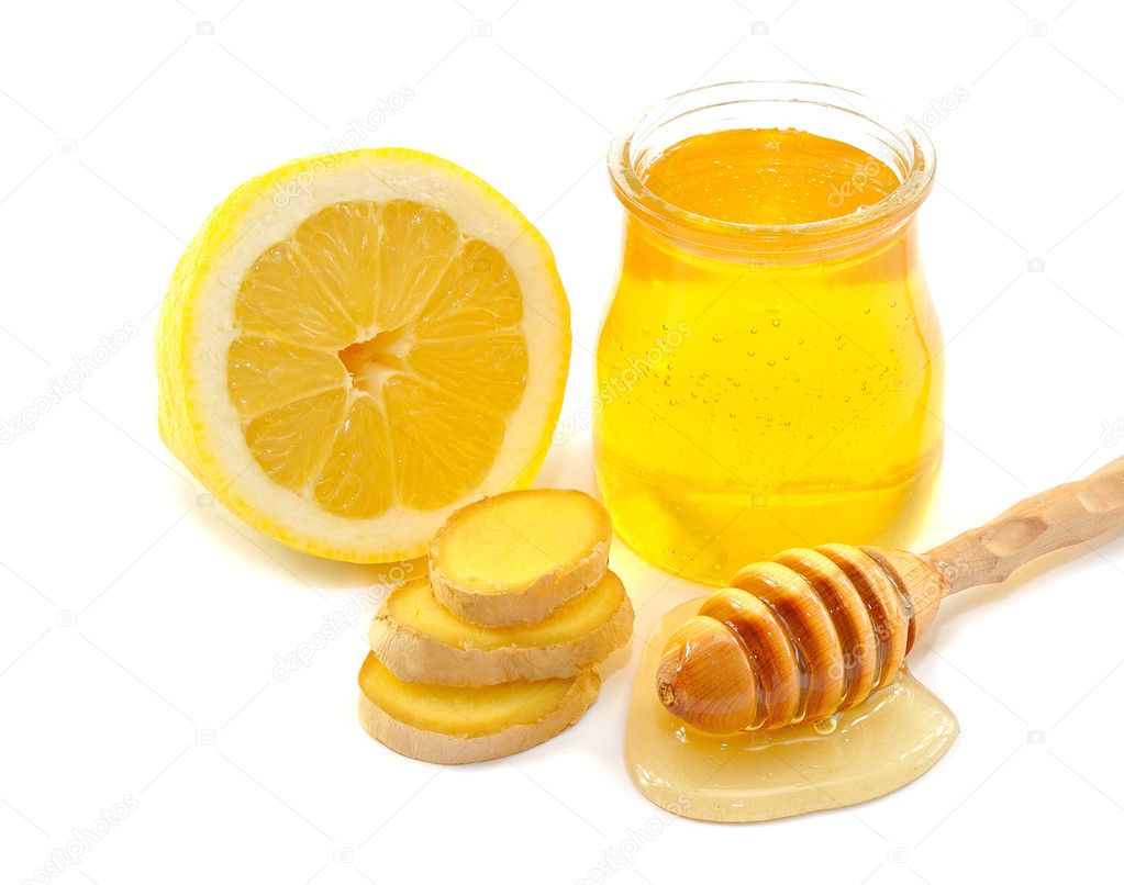 Honey, lemon, ginger