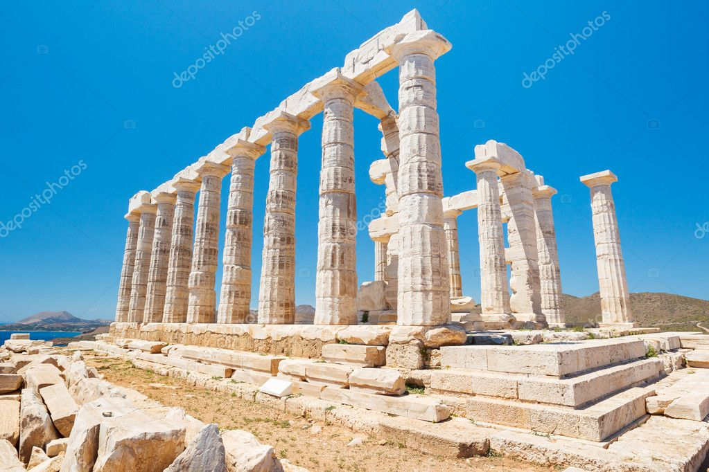 Greece Temple to the Gods