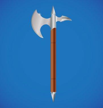 Vector battle axe