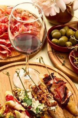 Spanish dinner prepared