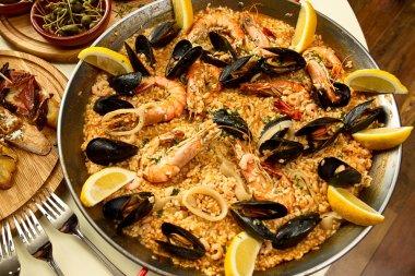 Delicious spanish dinner