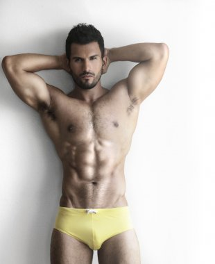 Hunk in underwear