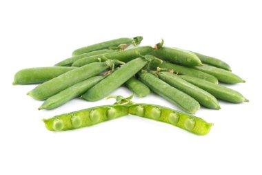 Peas isolated