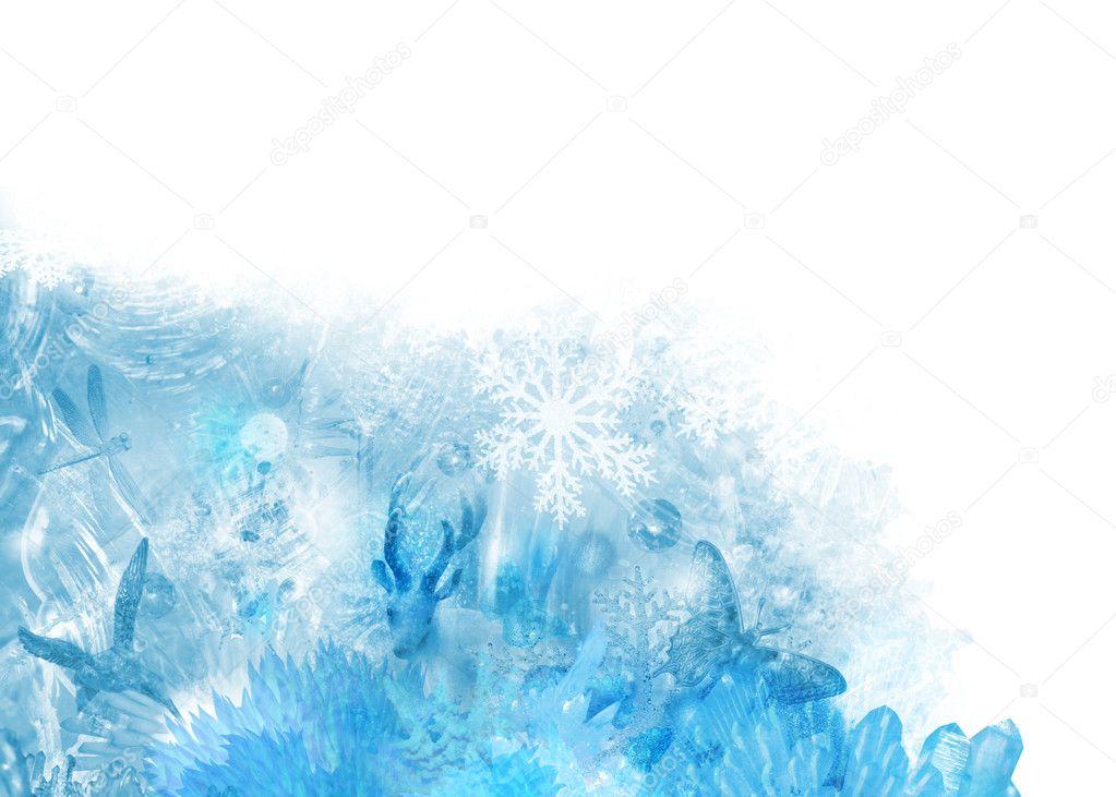 Ice scene corner