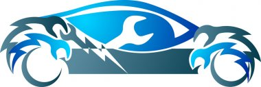 Automobile mechanic logo