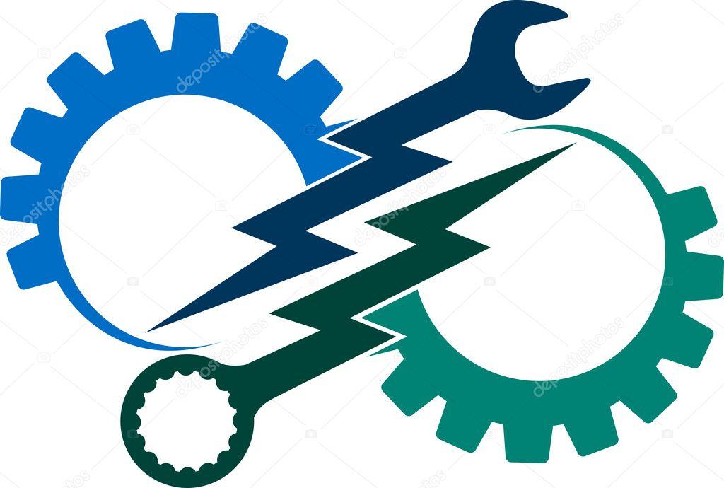 Power tool logo