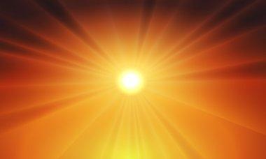 Sun light background