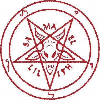 Inverted pentagram