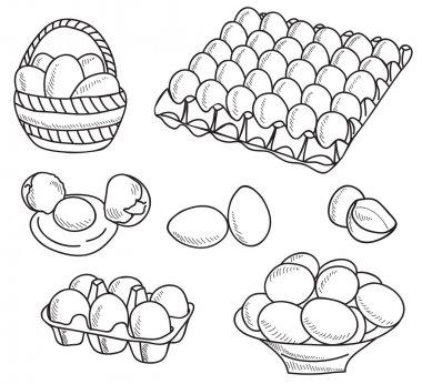 Illustration of eggs