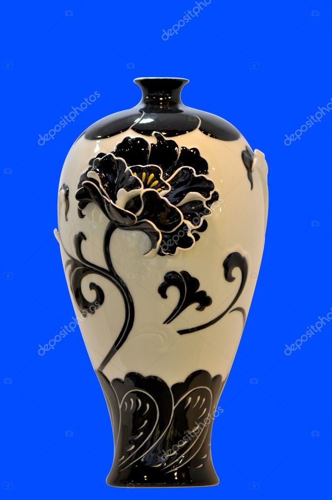 Chinese Traditional Vase Stock Photo Momoleif 11295334