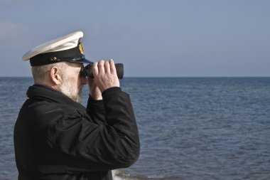Sailor with Binoculars