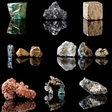 Metal containing minerals