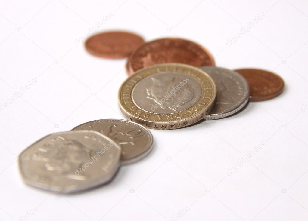 Englische Münzen Stockfoto Jools123 11977990