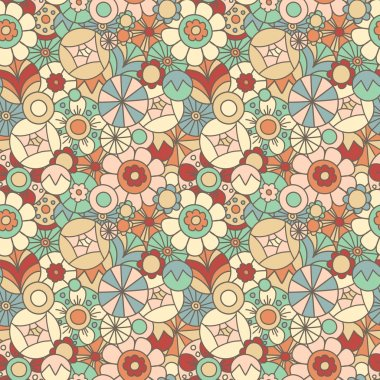 Seamless floral pattern #1