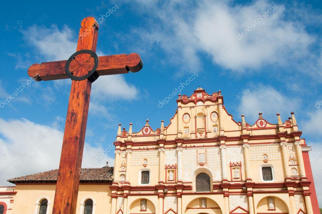 Cathedral of San Cristobal de las Casas, Chiapas (Mexico)