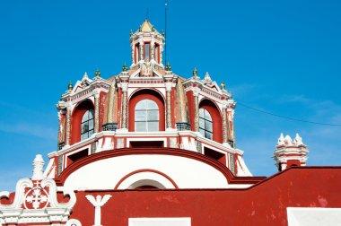 Dome of Church of Santo Domingo, Puebla Mexico