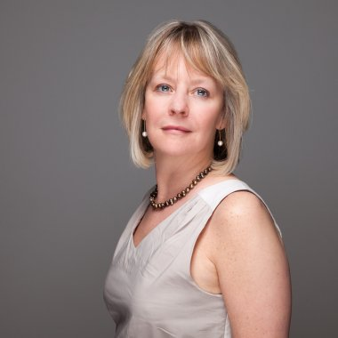 Portrait of Attractive Middle Age Woman with Enigmatic Look
