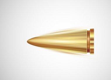 Flying bullet