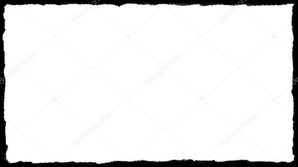 marco único borde blanco y negro 02 — Foto de stock © Altinosmanaj ...