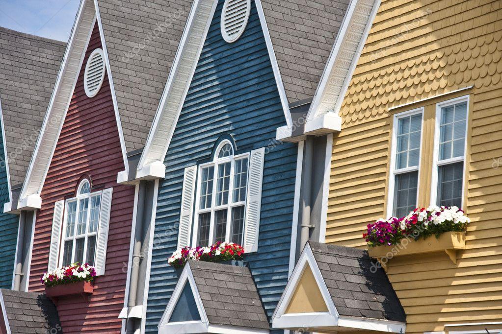 Kolorowe Domy Zdjęcie Stockowe Tinarayna 11826234