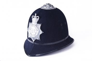 A British Police Officer's Helmet
