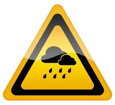 Rainy weather sign