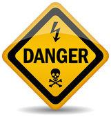 Fényképek vektor veszély figyelmeztető jel