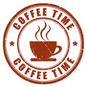 Fotografie Kaffee-Time-stamp