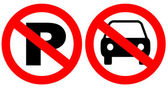 Fotografie No parking signs