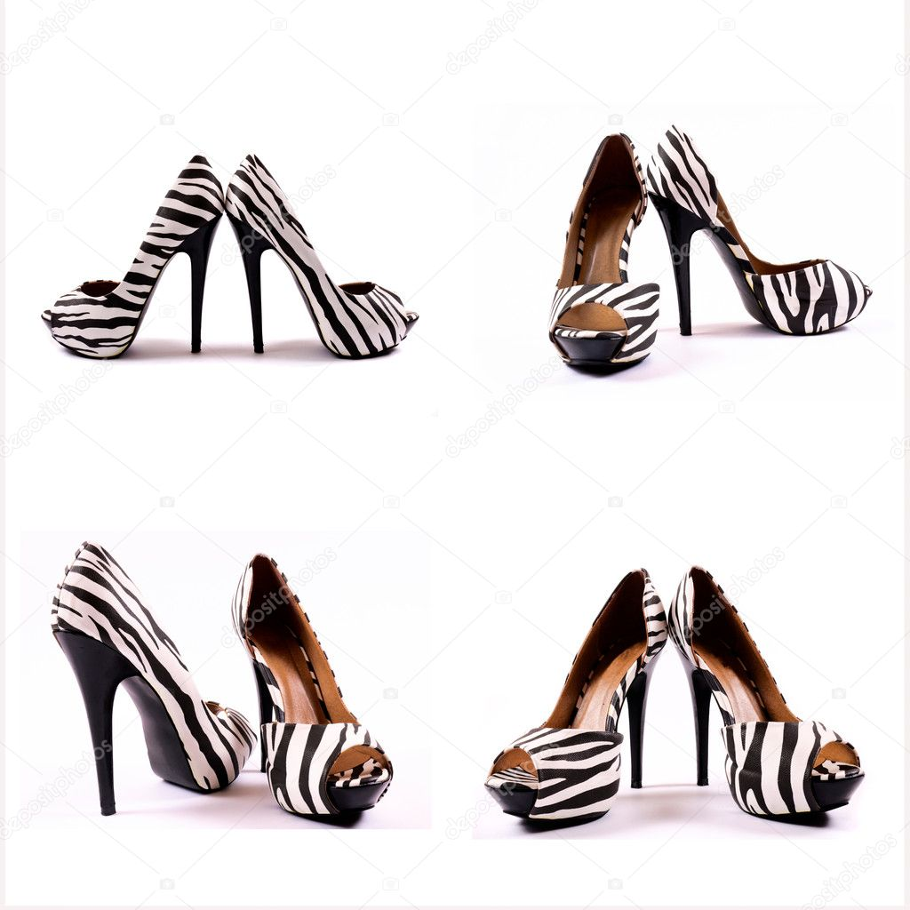 High heels collage