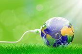 Fényképek Zöld energia plug