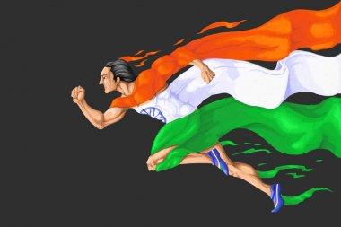 Runner in Tricolor