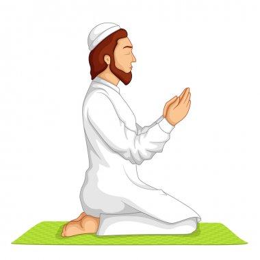 Muslim offering Namaaz