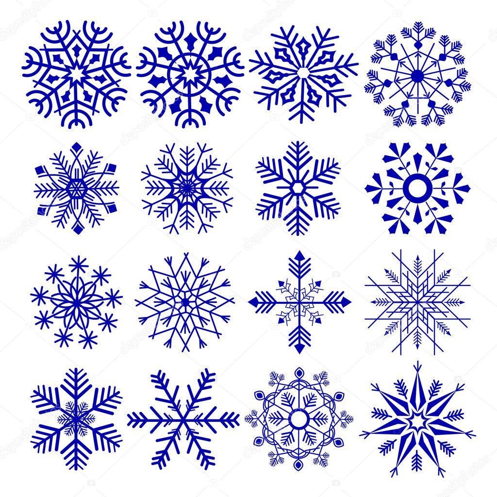 Disegno Fiocco Di Neve Vettoriali Stock Stockshoppe 12324816