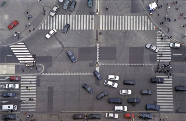 Road Intersection in Paris