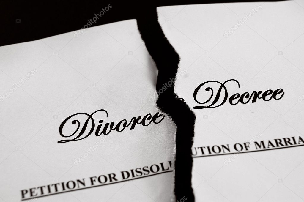 Divorce Decree Document Torn Apart U2014 Photo By Zimmytws