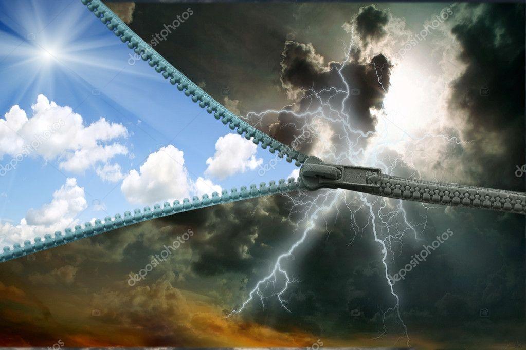 Zipper. lightning