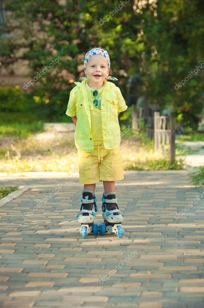 The child on walk