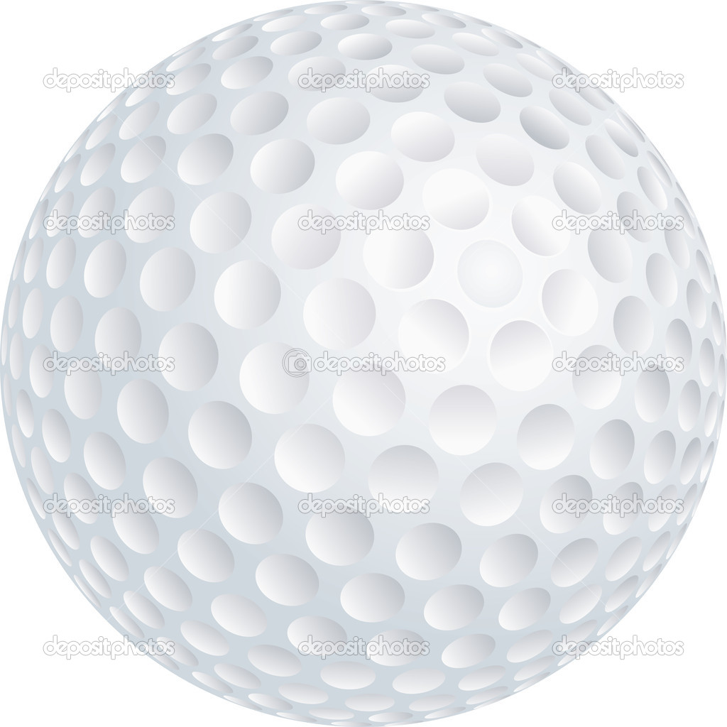 golf ball u2014 stock vector suljo 11498317