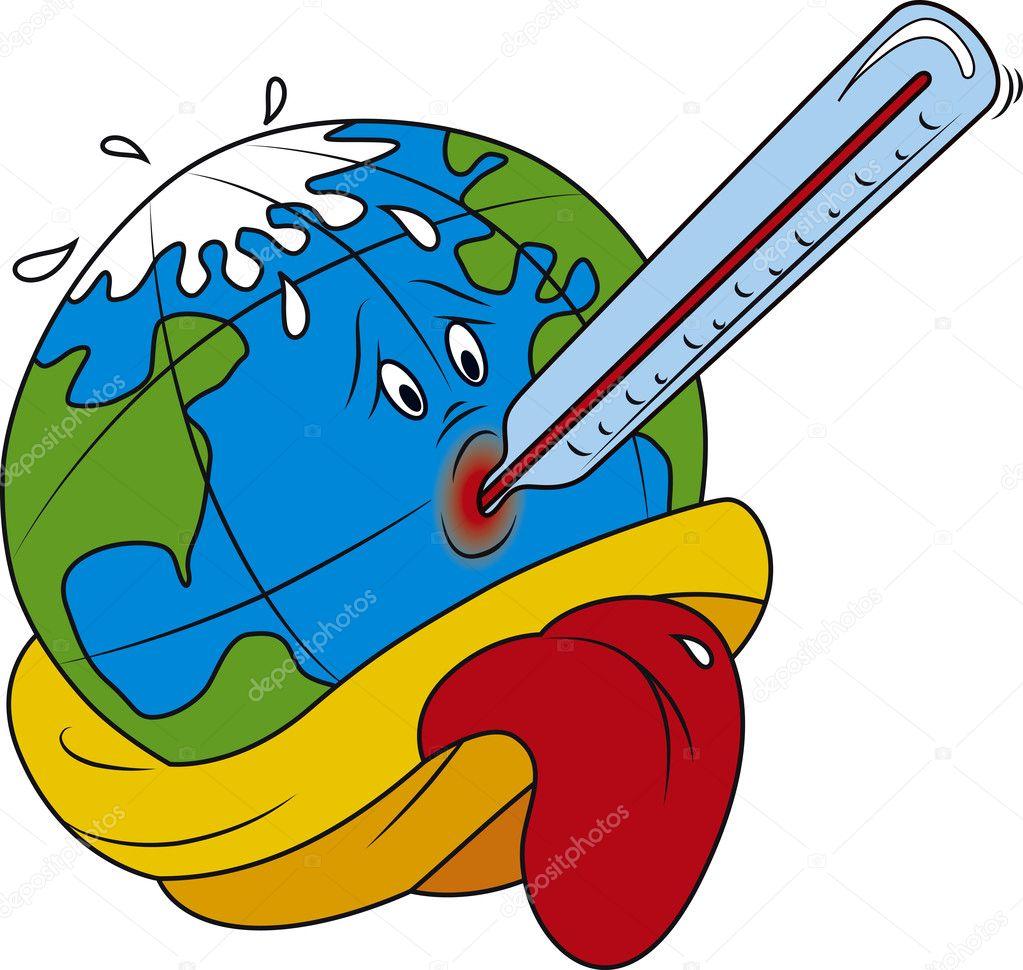 calentamiento global — Vector de stock © Suljo #11498543