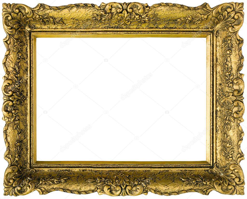 verguld gouden frame uitgesneden stockfoto suljo 11660220. Black Bedroom Furniture Sets. Home Design Ideas
