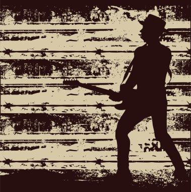 Jail Guitar Poster
