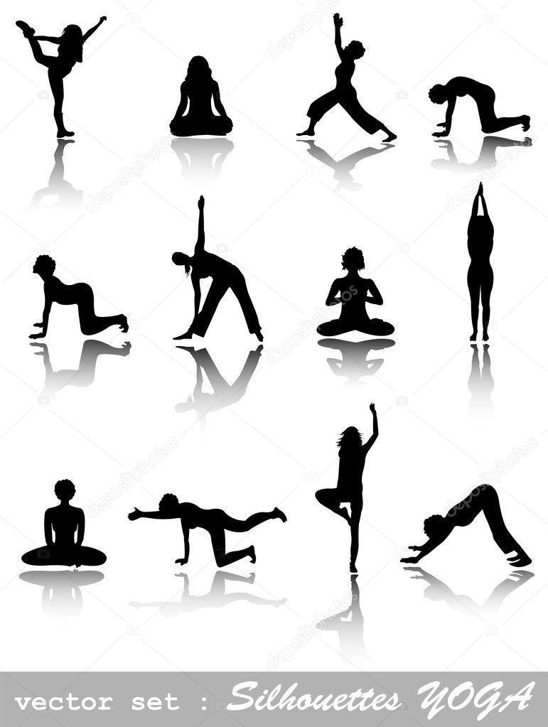 Silhouettes Yoga