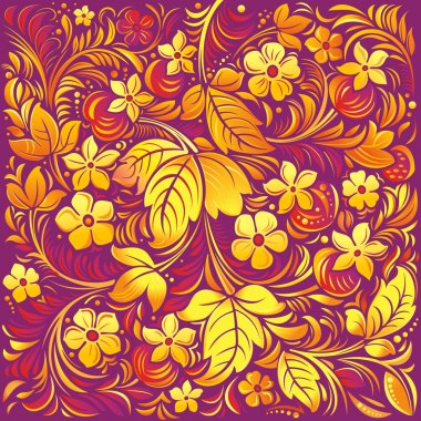 Traditional ornamental background