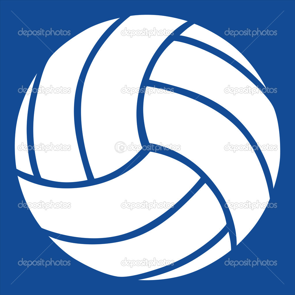 volleyball vector icon stock vector ademdemir 12261450 rh depositphotos com volleyball vectors free download volleyball silhouette vector free
