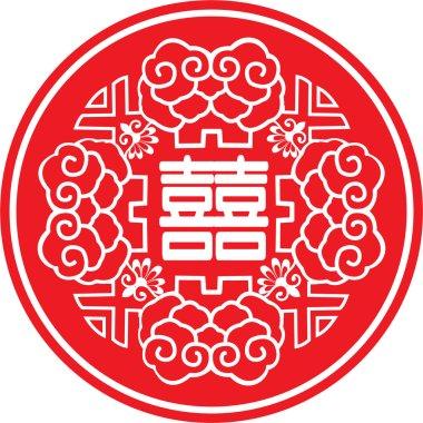 Oriental weding icon