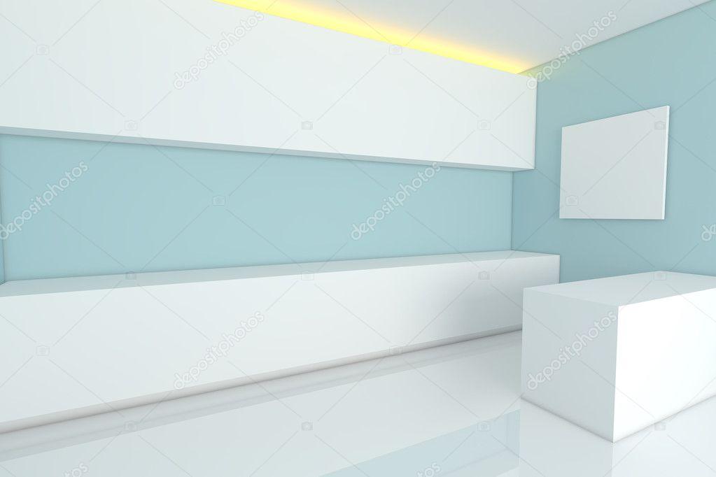 Blaue Küche U2014 Stockfoto